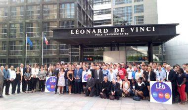 pulv leonard or photo groupe 28 juin 2012 380x222 - 9e cérémonie des Léonard d'Or au Pôle Universitaire Léonard de Vinci