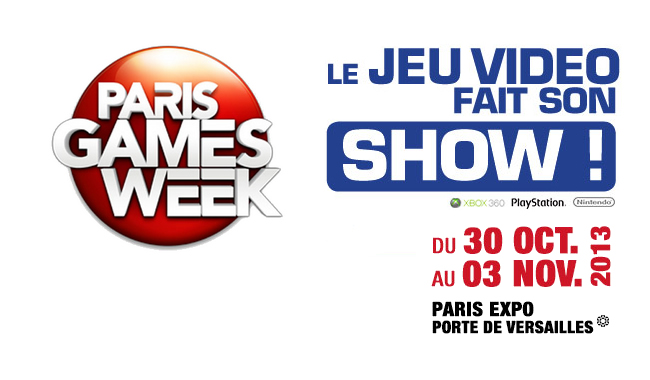 Plan du Paris Games Week Paris-games-week-2013