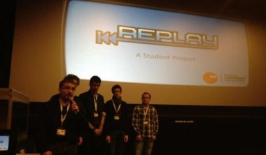 replay1 380x222 - Game Critics de Montpellier : Replay, un jeu vidéo made in IIM, remporte le prix de la créativité !