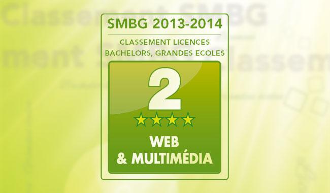 IIM Institut Internet Multimedia Bachelor chef de projet multimedia image - Le Bachelor Chef de Projet Multimédia classé 2e meilleure formation en web et multimédia 2014 par SMBG