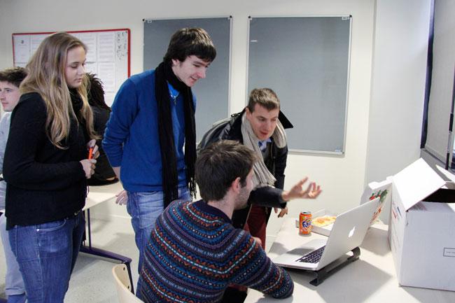 iim institut internet multimedia paris la defense bap agence web agile tests versions finales 00 - Test & pizza party des versions finales des projets BAP de l'agence web agile de l'IIM