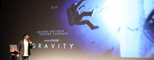 iim parisfx conference gravity - L'IIM au ParisFX 2013, le rendez-vous des professionnels du cinéma d'animation