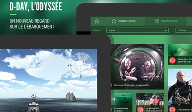 d day odyssee - Atomic Soom lance une application en 3D temps réel au cœur du cimetière sous-marin du 6 juin 1944