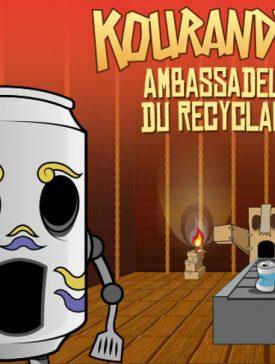 """iim bap kourandero ambassadeur du recyclage galerie 275x364 - Projet """"Kourandero, Ambassadeur du recyclage"""" réalisé pour CAE Clara Bis"""