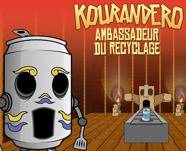 "iim bap kourandero ambassadeur du recyclage galerie - Projet ""Kourandero, Ambassadeur du recyclage"" réalisé pour CAE Clara Bis"