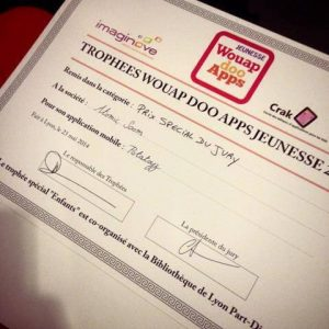 iim potatoys wouap doo apps jeunesse prix special du jury 300x300 - L'application mobile Potatoyz lauréat du prix du jury aux Wouap Doo Apps Jeunesse 2014