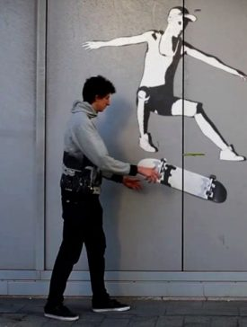 iim street art la defense 275x364 - STREET ART, un court-métrage qui mélange prise de vue réelle et images de synthèse