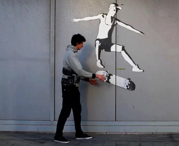 iim street art la defense - STREET ART, un court-métrage qui mélange prise de vue réelle et images de synthèse