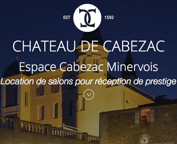 iim site web responsive parallaxe chateau cabezac - Un site web responsive et parallaxe pour le Château de Cabezac