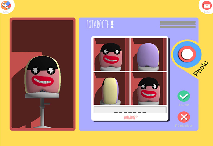 Photobooth version Potatoyz !