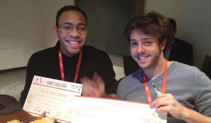 game challenge 2014 - Kevin Rault et Franck-Olivier Filin remportent le Game Challenge 2014 du Montpellier in Game