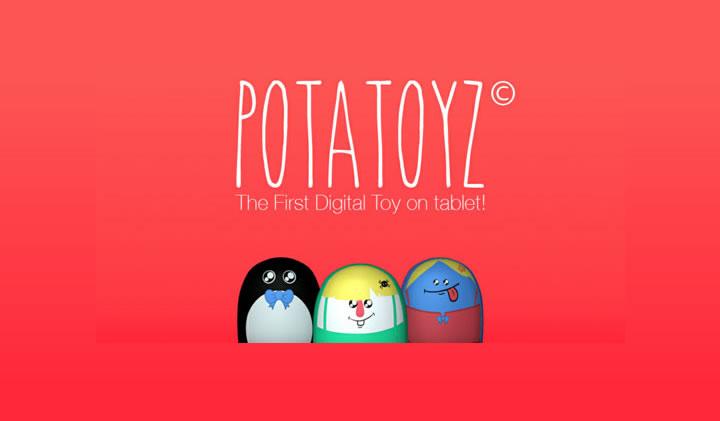 """potatoyz - Atomic Soom remporte l'Award """"Objets Connectés"""" dans la catégorie Jeu / application à la Paris Games Week 2014"""