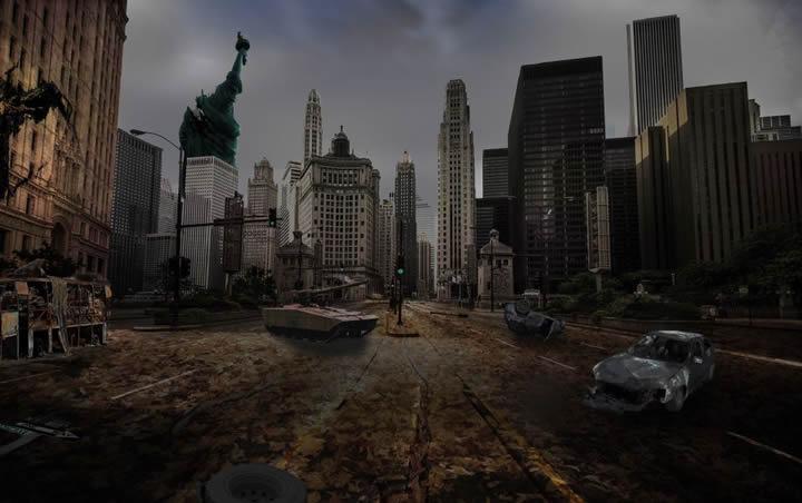 Bilal Lamghari - Des villes imaginaires sorties tout droit du Photoshop des années préparatoires !