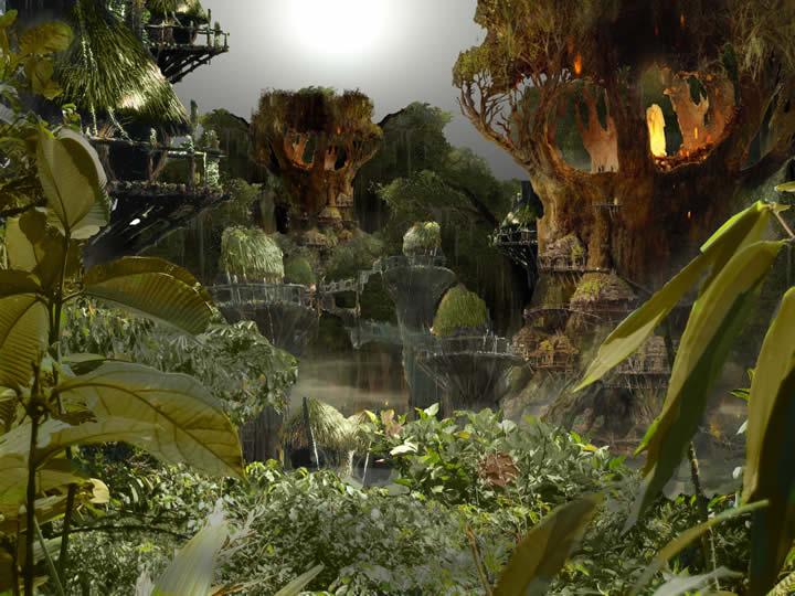 GrG pierre munin ville utopique - Des villes imaginaires sorties tout droit du Photoshop des années préparatoires !