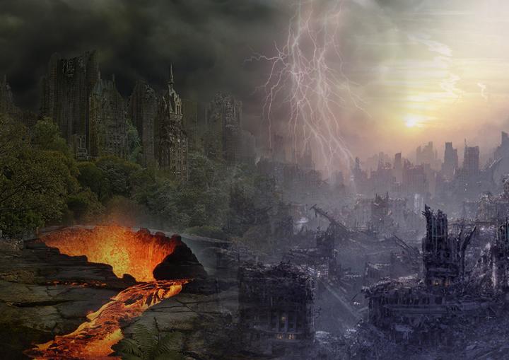 LEMOS anais DYSTOPIE GRF - Des villes imaginaires sorties tout droit du Photoshop des années préparatoires !