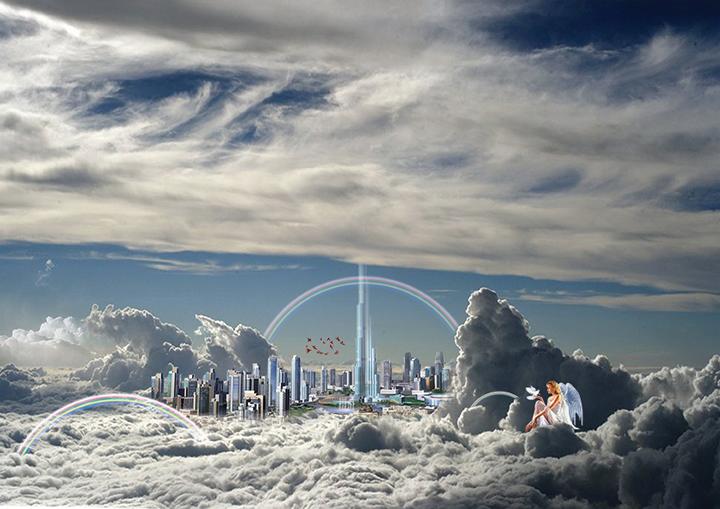 Theme Utopique Positif Vincent Aubert - Des villes imaginaires sorties tout droit du Photoshop des années préparatoires !