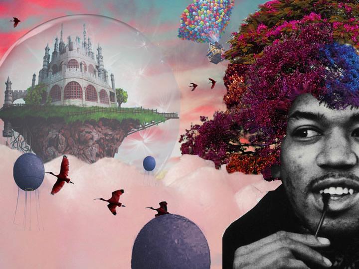 Utopique Baroudi Nour - Des villes imaginaires sorties tout droit du Photoshop des années préparatoires !