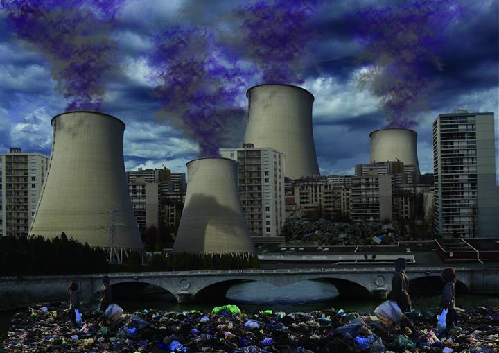 ville negatif Tarik Boumriche - Des villes imaginaires sorties tout droit du Photoshop des années préparatoires !
