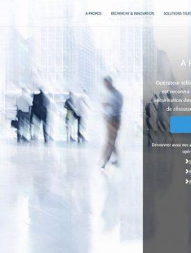 Vivaction accueil 275x364 - Réalisation d'un site à destination d'une cible BtoB pour Vivaction