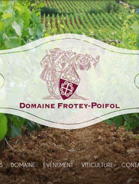 domaine frotey 275x364 - Le site vitrine du Domaine Frotey Poifol par les étudiants de l'axe Web et e-business