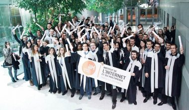 iim promo 2014 380x222 - Remise des diplômes de la promotion 2014 de l'Institut de l'Internet et du Multimédia