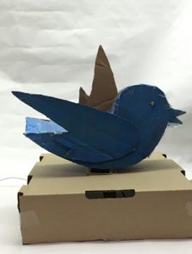 tweetbird 275x364 - [Objets connectés] TweetosBird
