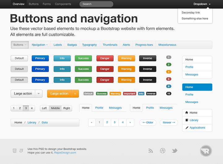 5 th u00e8mes bootstrap gratuits pour r u00e9aliser un site de projet design et simple