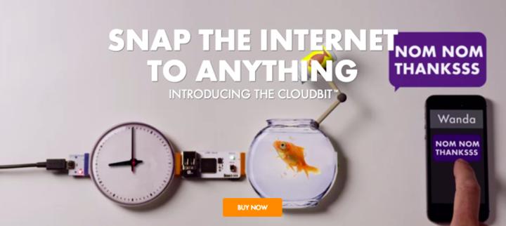 cloudbits - Les étudiants en première année créent leurs premiers objets connectés !