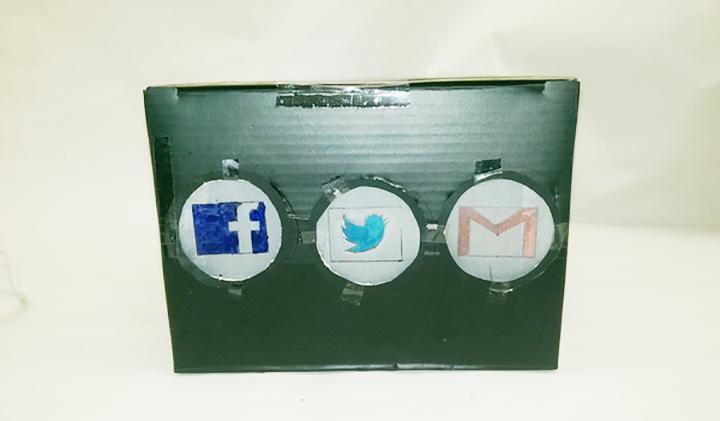 social box - [Objets connectés] The Social Box