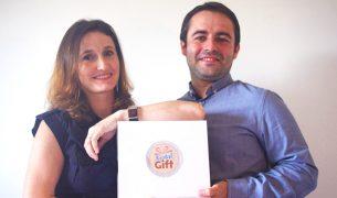 Céline et Frédéric Gomes, diplômés de l'IIM