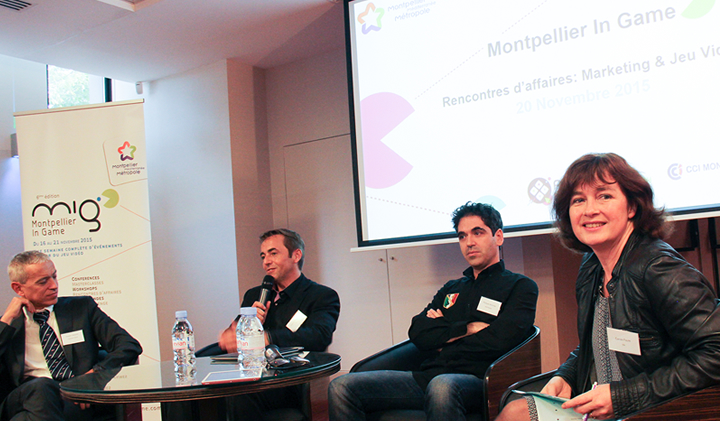 MontpellierinGame2015 - Montpellier in Game 2015 : jeu vidéo et marketing