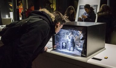 ExpositionDarwin creation Perotti 380x222 - Les dispositifs interactifs multimedia de l'exposition Darwin réalisé par un enseignant de l'IIM