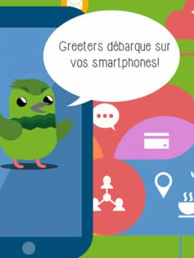 greeters smartphones 275x364 - Greeters Paris, application mobile