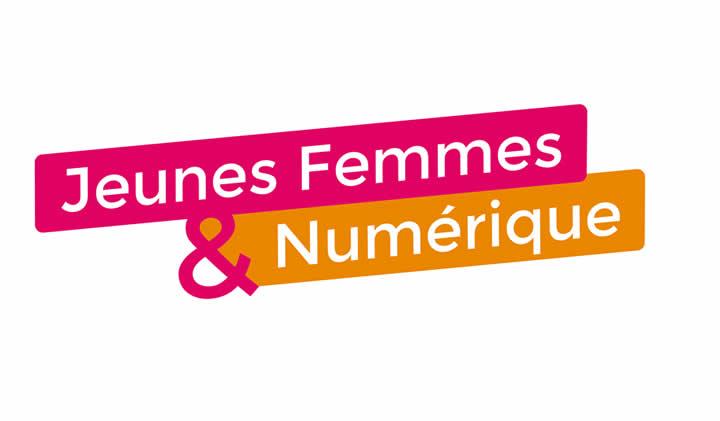 jeunes femmes et numerique - Jeunes femmes du numérique, logo et site