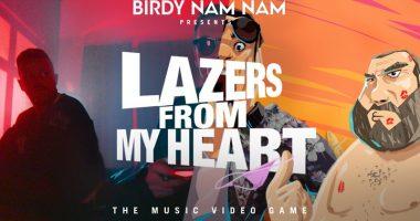 Lazers 380x200 - BIRDY NAM NAM - Lazers From My Heart, le jeu vidéo en musique