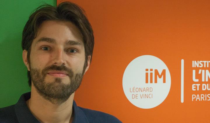jeu video iim - Thomas Nicolet, nommé Responsable de l'axe métier Jeux Vidéo !
