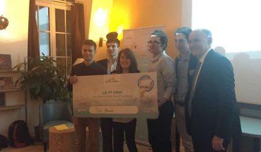 saint gobain challenge 380x222 - 5 étudiants en web et e-business de l'IIM remportent le challenge Saint Gobain / Pinterest