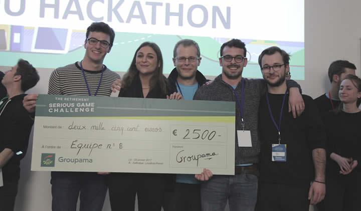 hackathon groupama - Hackathon Groupama : l'IIM et l'ESILV remportent le premier prix