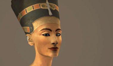 buste nefertiti scan 3d 380x222 - Rendre la vie au buste de Néfertiti grâce à la restauration 3D, un projet des étudiants de l'IIM