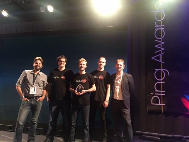 Ping Awards E Peter - Ping Awards : les étudiants de l'IIM gagnent le prix du Meilleur jeu étudiant