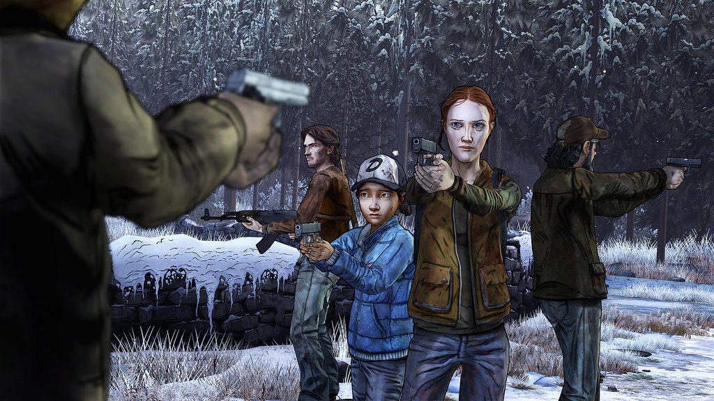 walking dead film interactif 1024x576 - Le film interactif : entre le jeu vidéo et le film