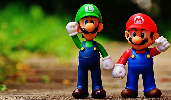 UNE mario nintendo luigi jeu - Aux origines de Mario, superstar de la Nintendo