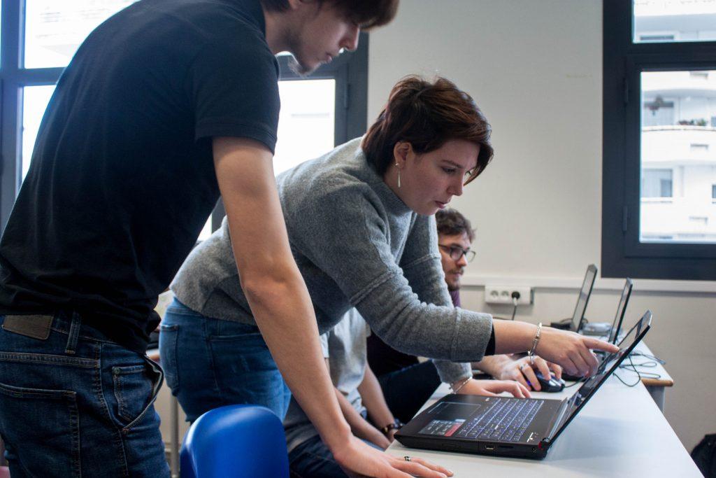 maelle etudiant 1024x683 - Maëlle, promo 2014, intervenante à l'IIM et co-fondatrice d'un studio de jeu vidéo