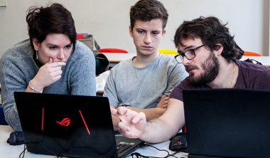 une maelle 380x222 - Maëlle, promo 2014, intervenante à l'IIM et co-fondatrice d'un studio de jeu vidéo