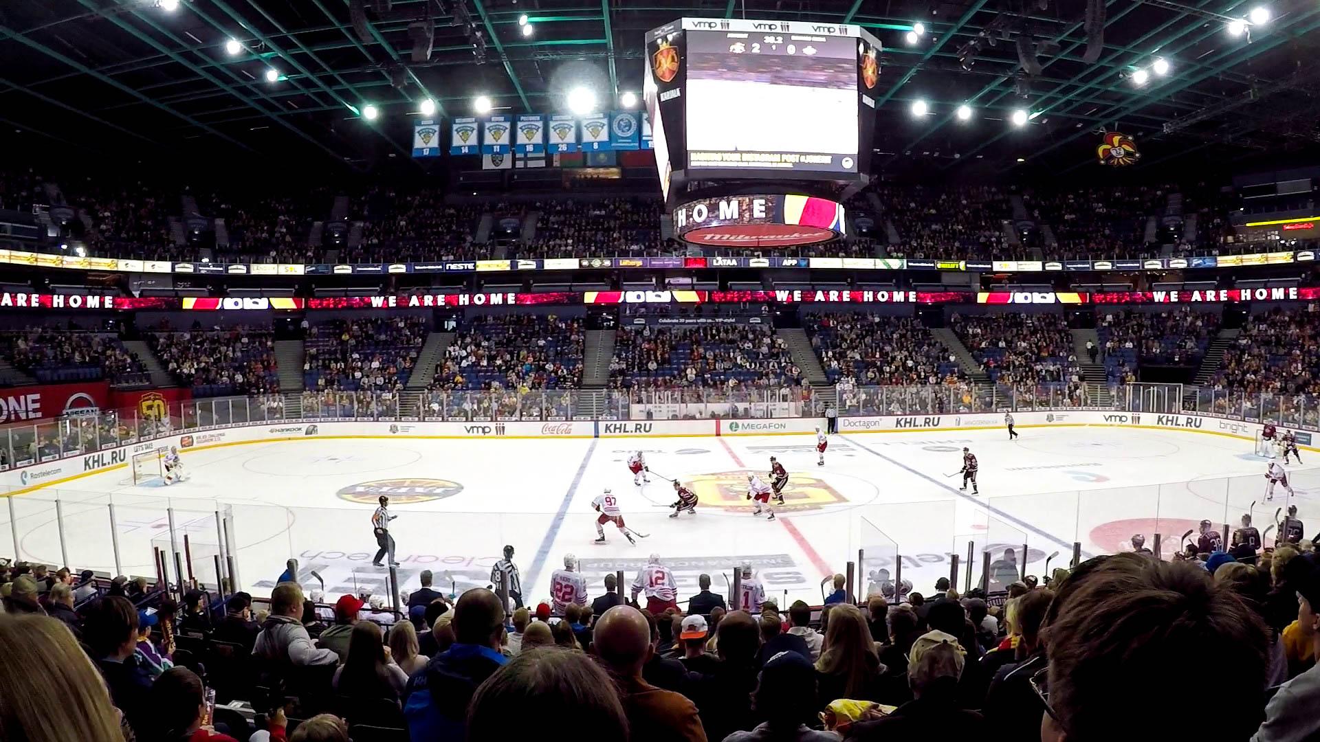 Hockey match 2 - Étudier en Finlande : Pierre, promo 2019, en échange à Helsinki