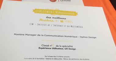 UNE classement 380x200 - 5 bachelors de l'IIM dans le classement Eduniversal 2019-2020