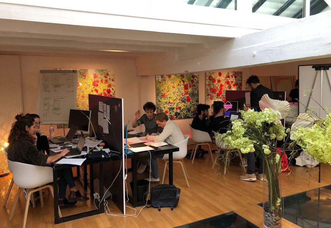 designjam - Design Jam d'Adobe : 24 h pour prototyper une application