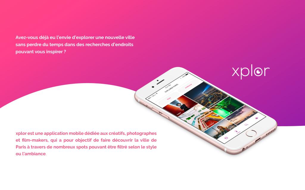 xplor adobe application 1024x640 - Design Jam d'Adobe : 24 h pour prototyper une application
