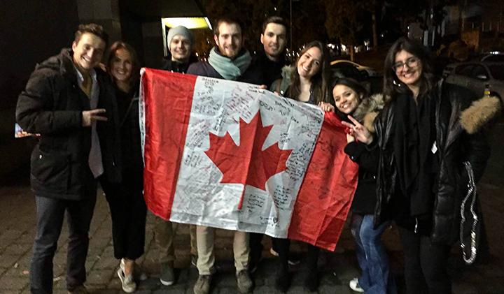 Dernier soir a BCIT  - Étudier au Canada : Christelle, promo 2019, en échange à Vancouver
