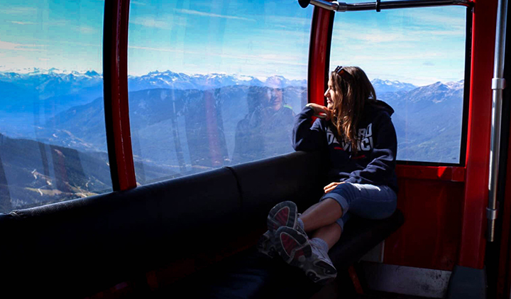 Montagne - Étudier au Canada : Christelle, promo 2019, en échange à Vancouver